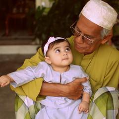 (Haifeez) Tags: people baby cute 35mm asian nikon asia malaysia terengganu bts eidmubarak d80 haifeez