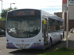 First Glasgow Volvo B7RLE 69191 East Kilbride 18/08/12 (David_92) Tags: new urban eclipse volvo glasgow first east wright livery kilbride adz b7rle mx56 69191 mx56adz