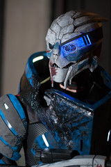 Garrus (Thurgood Marshall) Tags: atlanta georgia costume dragoncon masseffect garrus