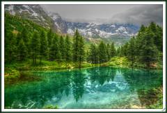 Blue Lake (Tiziano Photography) Tags: blue lake color reflection nature water lago nuvole natureza acqua riflessi cervinia cluod lagoblu thegalaxy mygearandme rememberthatmomentlevel4 rememberthatmomentlevel1 rememberthatmomentlevel2 rememberthatmomentlevel3 bewiahn