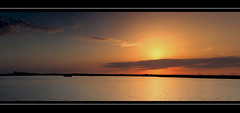 Panorama sunset, Grevenlingen lake (on Explore 9 Sept 12) (drbob97) Tags: sunset sky orange sun lake haven holland water netherlands dutch clouds canon fire boot dawn harbor boat meer south nederland saturday wolken 9 sunny zeeland september explore mussel lucht 2012 oranje zuid mossel vuur grevelingen zonnig 24105mm 40d zonsonderdgang bestcapturesaoi mygearandme mygearandmepremium mygearandmebronze mygearandmesilver mygearandmegold mygearandmeplatinum drbob97 flickrstruereflection1 flickrstruereflection2 brouweshaven