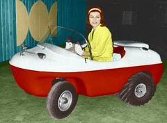 Penguin Amphicar 197cc 1964 (mrscharroo) Tags: auto classic car vintage penguin automobile antique vehicle amphicar minicar microcars