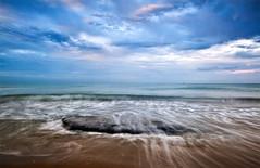 DSC_4162 (Guido Dall'Olio) Tags: blue sea blur evening mare mosso longexposuretime poselunghe
