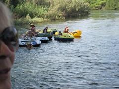 Hauli Huvila raft floaters