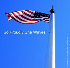 American Flag (Harry Lipson III) Tags: blue red white flag americanflag flagpole starsandstripes oldglory andblue harrylipsoniii harrylipson sonyalphanex7 harryshotscom copyrightbyharrylipsonallrightsreservednounauthorizedusagewithoutwrittenconsent soproudlyshewaves oneofharrysfavoriteshots harrylipson3 visitharryshotscom iinviteyoutovisitmywebsiteharryshotscom theunsungphotographer theunsungphotographercom totalslackerphotographycom totalslackerphotography