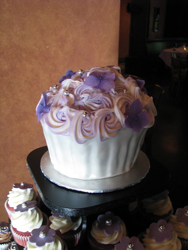 Giant Cupcake topper