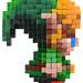 Pixel Art 3D Fimo 04