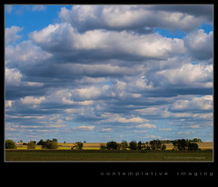 rural landscape (contemplative imaging) Tags: blue trees summer sky usa white hot art field clouds digital rural america landscape photography countryside photo illinois midwest day image artistic cloudy photos fineart country sunday overcast images farmland september il ill american fields farms imaging jpeg puffy cloudscape 43 2012 partly 3x4 boonecounty midwestern olye3 contemplativeimaging olyhg50200 ronzack 20120909 cira20120903e332 ciplv20120909e3