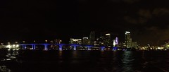 Downtown Miami at Night (miamism) Tags: biscaynebay downtownmiami miamiskyline miamibridge miamiatnight miamirealestate miamibridges miamiboating miamisms miamiboatingatnight
