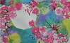 Cherry Blossoms, Tempera (dalepadams) Tags: pink moon flower art watercolor spring paint blowing cherryblossoms middleschool tempera spattering