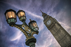 Lights Under Big Ben (violinconcertono3) Tags: uk england london westminster lights landscapes flickr unitedkingdom dusk antique fineart cityscapes parliament bigben landmark fineartphotography davidhenderson london2012 fineartphotographer londonphotographer 19sixty3 19sixty3com