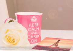 KEEP CALM and CARRY ON (1/2) ( SUMAYAH  ) Tags: life flower tower canon photography eos still edmonton eiffel calm explore alberta pro keep carry   on  550d   sumayah         flickrsumayah  sumayahessa