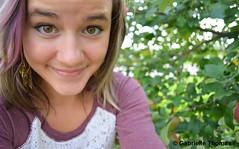 Me (gabbbysgongetyu) Tags: portrait canada hot cute apple nature girl beautiful smile self hair s hazeleyes gabriellethomas gabbbysgongetyu gabriellethomasphotography