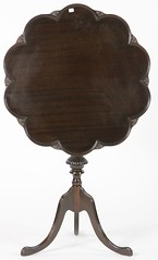 44. Tilt Top Supper Table