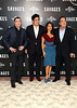 John Travolta, Salma Hayek, Benicio Del Toro, Oliver Stone Savages photocall held at The Mandarin Oriental