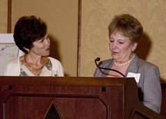 """Honoree Elaine Gantz Berman with Event Chair Paula Herzmark • <a style=""""font-size:0.8em;"""" href=""""http://www.flickr.com/photos/41190584@N03/8006695940/"""" target=""""_blank"""">View on Flickr</a>"""