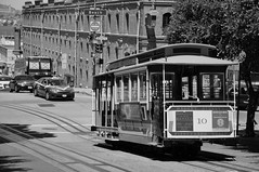 Cable car (SFO) (reflexbeginner) Tags: sanfrancisco nyc bw usa newyork nature america landscape nationalpark nikon honeymoon unitedstates nikkor viaggiodinozze statiuniti d90 wonderfulview