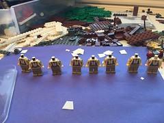 New recruits. (Brick Lieutenant) Tags: ww2 america military legomilitary legoww2 lego brickarms