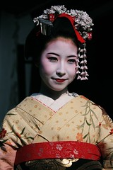 (lylieperseid) Tags: japon japan voyage trip exterieur girl white kyoto