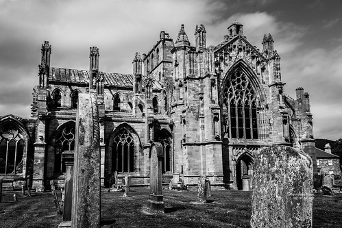 Melrose Abbey Graves
