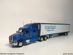 Diecast replica of Western Distributing Peterbilt 387, DCP 30379 (Michael Cereghino (Avsfan118)) Tags: western distributing dist trans transportation corporation corp peterbilt model 387 diecast die cast promotions promotion dcp 30379 164 scale truck semi
