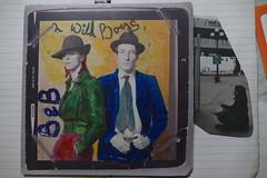 Om..Om..Om.. (bballchico) Tags: omomom nirvana icon legend musician writer davidbowie williamburroughs colouredbybowie 1973 terryoneillphoto art artbyme