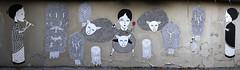 Fred le Chevalier_ villa de l'Ermitage Paris 20 (meuh1246) Tags: streetart paris belleville paris20 villadelermitage fredlechevalier musique flte animaux mouton arbre