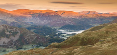 First light (Jake Pike) Tags: lake district landscape sunrise panorama hills mountains ulswater colour autumn
