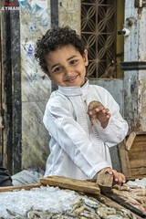 . (Ayman Abu Elhussin) Tags: industrious boy industriousboy      fisher fisherboy fish market     seller sell 2016 aymanabuelhussin      street streetshot  streetlife nikon7100  arab  egypt portsaid portsaidegypt     people outdoor   smile   port face young clear life child