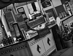 Touch of breakfast (TwinCitiesSeen) Tags: fair statefair minnesota minnesotastatefair twincities twincitiesseen saintpaul blackandwhite people canont3i tamron2875mm
