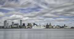 """""""Seven Seas Voyager Liverpool Waterfront"""" (Ray Mcbride Photography) Tags: liverpool waterfront sevenseasvoyager cruiseships rivermersey cityscape"""