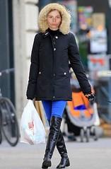 My niece Christine Stone (rjc721963) Tags: christine stone niece kinky leather thigh length boots