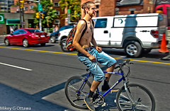 Cyclists Beware -   Ottawa 08 16 (Mikey G Ottawa) Tags: mikeygottawa canada ontario ottawa strteet city driver rider bicycle velo bike fahrrad truck death cyclist accident nusratjahan memorial tragedy invisible distracteddriving distract distraction hair manbun tattoo color colour couleur farbe 3d