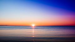 Sunrise (MorboKat) Tags: toronto eastyork beach beaches thebeaches thebeach lakeontario water sky sun sunrise morning