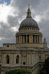 Saint Paul's Cathedral from roof terrace of One New Change. (jim_2wilson) Tags: architecture jimwilson saintpaulscathedral dxoopticspro tamron2875mmf28 sonya99