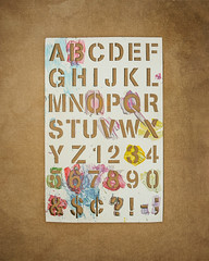 Stencil Alphabet Fun (ScottNorrisPhoto) Tags: stencil alphabet sign craft template cutout paint color colorful craftpaper brownpaper letters numbers symbols signage stilllife tabletop artsandcrafts signmaking texture mundane everdayobject classroom school abcs 365project photooftheday photoaday explore photography scottnorrisphotography milwaukee wisconsin usa