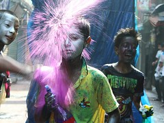 holi Festival|Dhaka (sabbir ahmed abeir ( MD SABBIR)) Tags: holi happy happiness children canon candid child childhood childish colours colourful click beautiful bangladesh dhaka outdoor