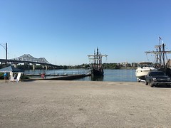 Pinta and Nina Sailing Ships (King Kong 911) Tags: pinta nina sailing ships decatur tennessee river