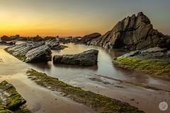 Barrika (jdelrivero) Tags: mar atardecer lugares sunset elementos barrika espaa playa beach elements places puestadesol sea spain