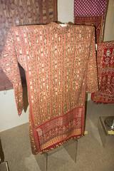 Sarawak woven coat (quinet) Tags: 2015 aborigne borneo iban kuching kuchingtextilemuseum malaysia sarawak ureinwohner aboriginal native
