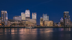 Canary Wharf cityscape at night (Dmitry Tkachenko) Tags: london uk england unitedkingdom canarywharf buildings cityscape longexposure longexp night architecture arkitektur arkitekturfotograf eiendomsfotograf eiendom boligfotograf nikon d810 fx 1835mm view skyscrapers skyscraper lights citylights landscape hsbc citi visitlondon fotograf photographer photosfromlondon photosfromuk httpwwwdmitryphoto architecturephotography outdoor water riverthames thames river buildingcomplex