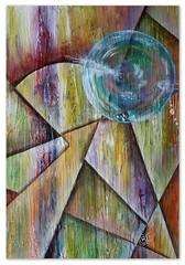 20160920_abstract 13_Acryl auf Papier 33x47cm (gabyjunker226) Tags: acryl abstract papier