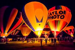 Final Glow of the Night (djking) Tags: alberta canada heritageinninternationalballoonfestival highriver taylorphoto hotairballoons night