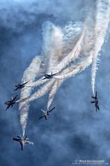 Blue Angels Delta Loop Break (mvonraesfeld) Tags: 3f0a0410 usn navy military jet blue angels smoke