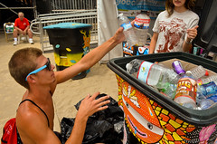US Open of Surfing 2012 Recycling Store (Global Inheritance.) Tags: huntingtonbeach usopenofsurfing recyclingstore