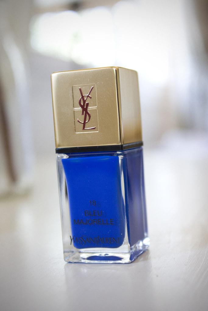 Bleu Majorelle Yves Saint Laurent YSL