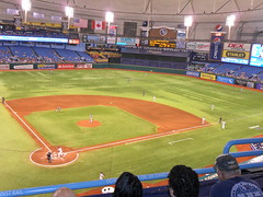 SAM_5076 (arctic_whirlwind) Tags: toronto baseball tampabay shift bluejays rays 2012 mlb tropicanafield overshift