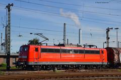 151 001-5 DB Schenker (vsoe) Tags: train germany engine railway db nrw duisburg bahn ruhrgebiet nordrheinwestfalen oberhausen 151 ruhrpott schenker gterzug