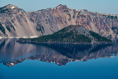 Crater lake (LisArt) Tags: oregon craterlake craterlakenationalpark craterlakeoregon craterlakenationalparkoregon