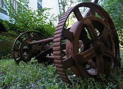 REEL MOWER 1 (Wolf Creek Carl) Tags: rural georgia rust antique mower